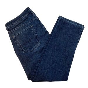 7 For All Mankind Standard button-fly jeans, 34